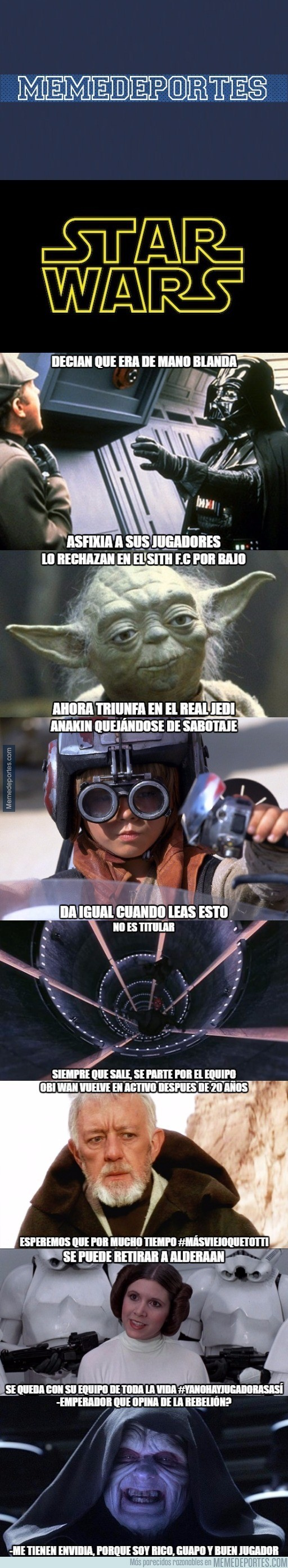 936046 - Star Wars: Edición Memedeportes