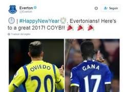 Enlace a A los sportinguistas no les gusta el tweet del Everton