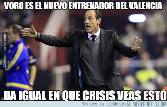 936193 - Voro es el nuevo entrenador del Valencia