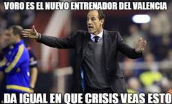 Enlace a Voro es el nuevo entrenador del Valencia
