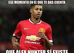 Enlace a Alex Hunter en la vida real