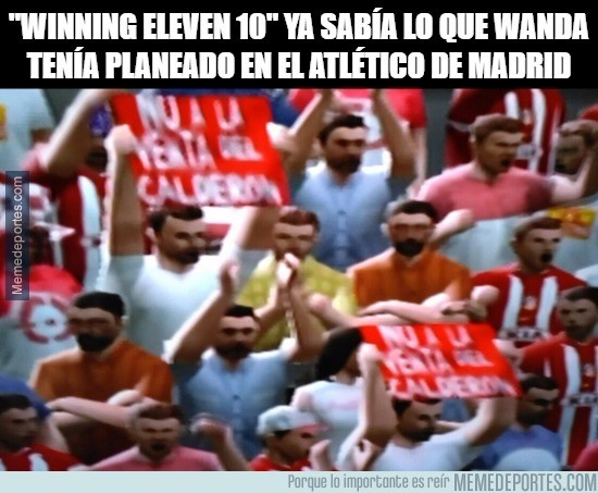 936338 - Winning Eleven 10 predijo el futuro del Calderón