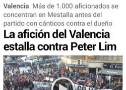 Enlace a En el Valencia no aguantan más