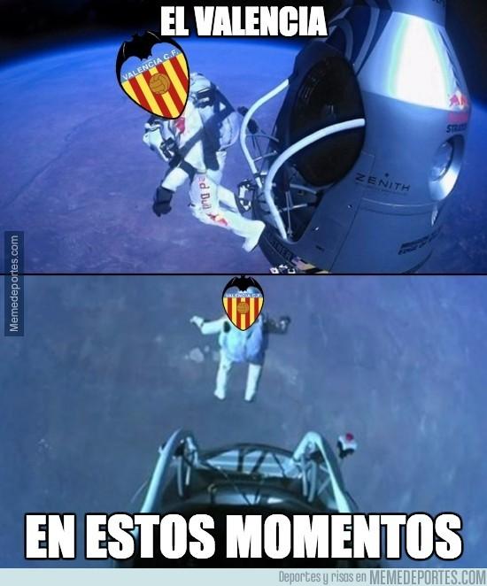 936394 - El Valencia en caída libre