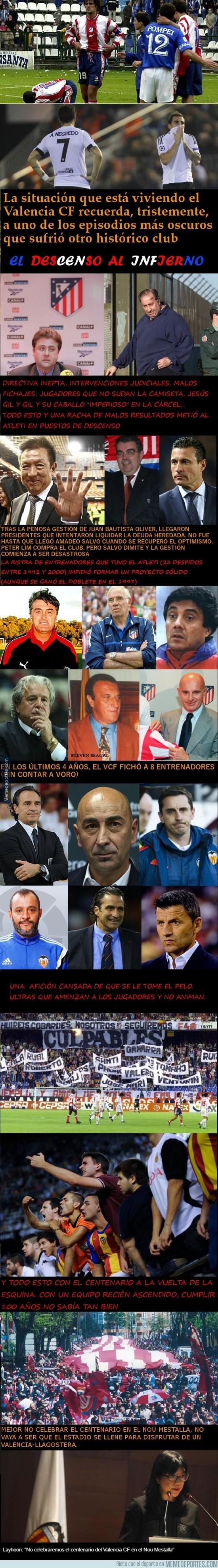 936626 - Coincidencias más que notables entre Atleti y Valencia que dan mucho MIEDO
