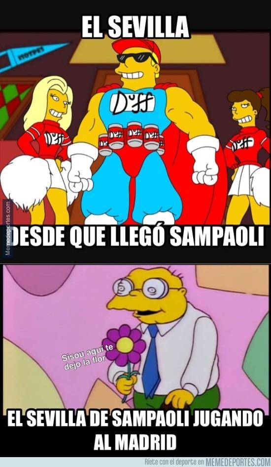 936684 - El Sevilla de Sampaoli perdió sus papeles
