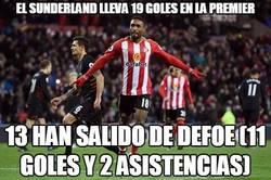 Enlace a El Sunderland lleva 19 goles en la Premier