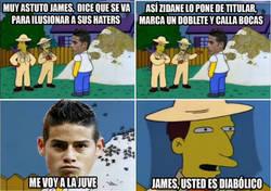 Enlace a James, usted es diabólico