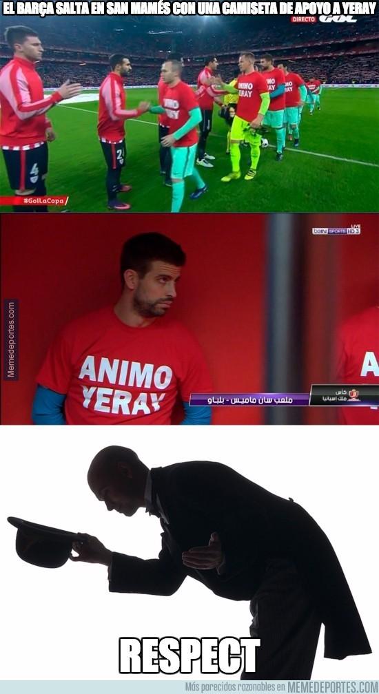 936962 - Enorme gesto del Barça en San Mamés