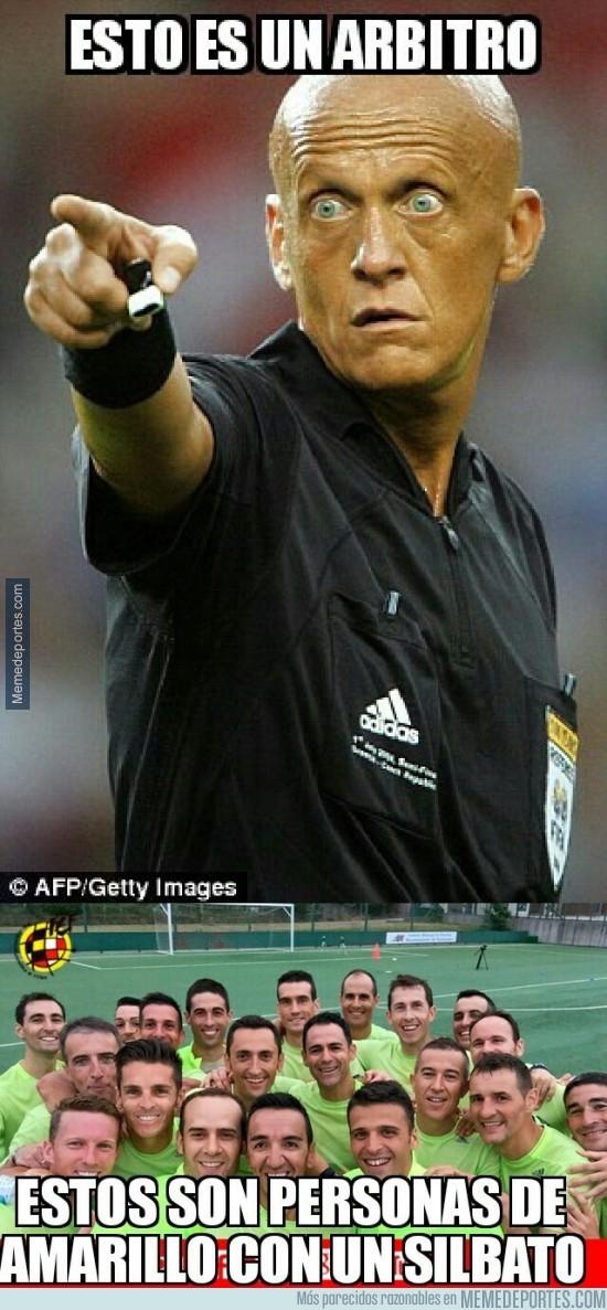 937119 - Muy poco nivel de los árbitros españoles