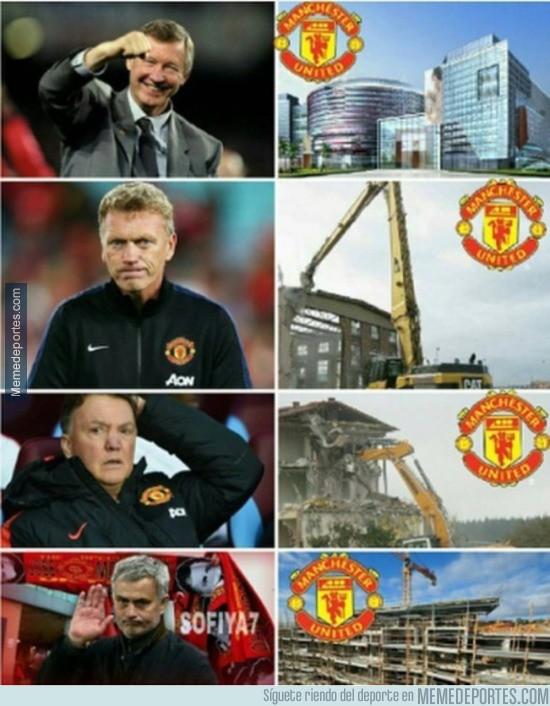 937396 - Mourinho empieza a reconstruir lo que un día construyó Ferguson
