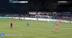 Enlace a El golazo espectacular de Jonathan Clauss (Avranches) en la Copa francesa