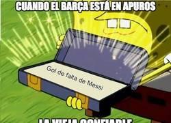 Enlace a Messi siempre está presente