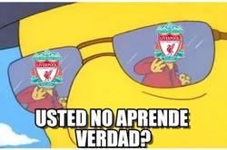 Enlace a Cuando el Liverpool empata contra un equipo inferior