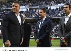 Enlace a Michael Owen se lleva un buen repaso por reírse de Ronaldo