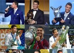 Enlace a Cuando Cristiano gana todos los títulos posibles a nivel colectivo e individual