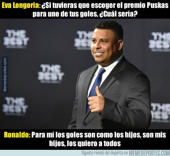 938355 - Ronaldo se la saca con su respuesta a Eva Longoria