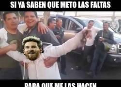 Enlace a Messi no lo entiende