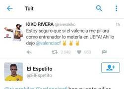 Enlace a El elegante zasca a Paquirrin tras sus palabras que quiere entrenar al Valencia