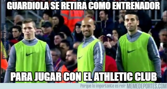 938705 - Guardiola se retira como entrenador
