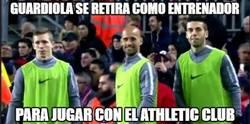 Enlace a Guardiola se retira como entrenador