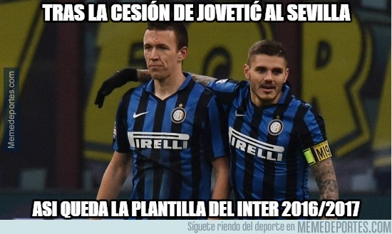 938795 - Plantilla del Inter de Milán 2016/2017