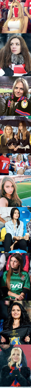 938809 - Top 10 animadoras de fútbol rusas más guapas