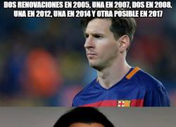 Enlace a Messi, más renovaciones que clubes Zlatan
