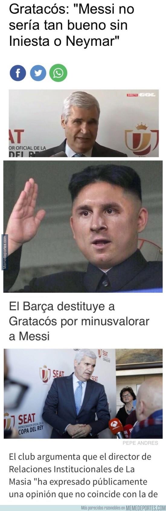 939288 - El pequeño dictador, controla el Barça en todos los sentidos