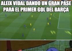 Enlace a Aleix Vidal reivindicándose en el lateral