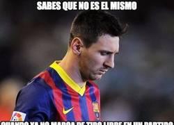 Enlace a ¿Qué le pasa a Messi?