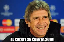 Enlace a Pellegrini viendo al City de Guardiola