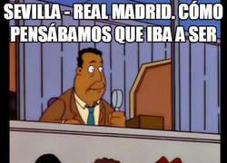 Enlace a Una decepción de momento el Sevilla - Real Madrid...