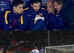 Enlace a Mientras tanto, en el banquillo del Barça...