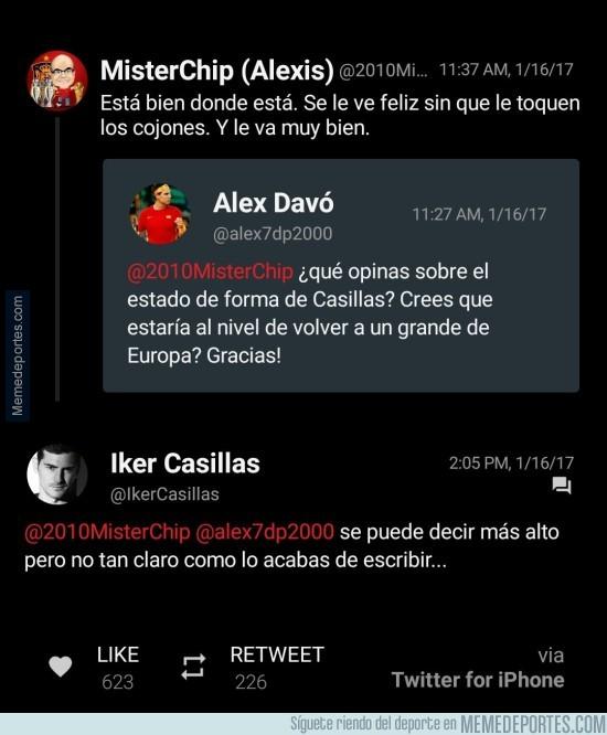 940501 - Por si alguien aún dudaba sobre la ida de Casillas