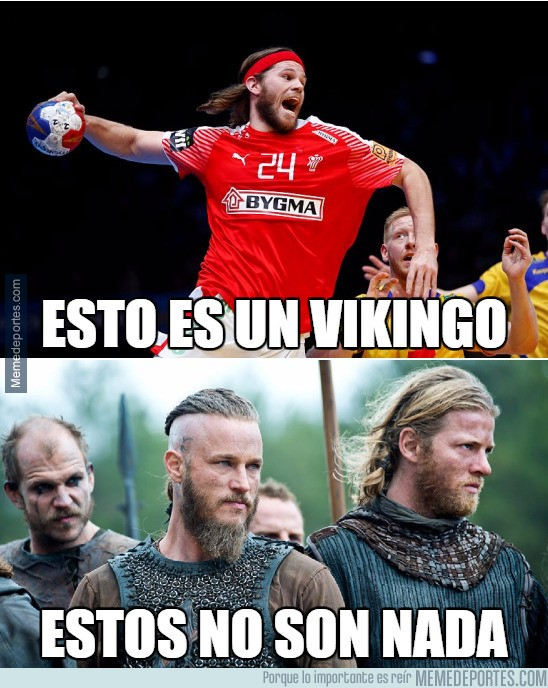940667 - Mikkel Hansen, el verdadero vikingo