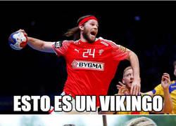 Enlace a Mikkel Hansen, el verdadero vikingo