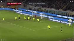 Enlace a Brutal golazo de chilena de Jeison Murillo en la copa Italia