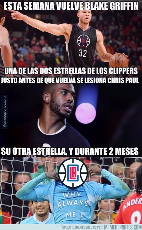 940805 - Los Clippers, el equipo maldito de la NBA