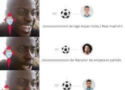 Enlace a Asalto al Bernabéu del Celta