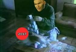 Enlace a Descripción gráfica de la imbatibilidad de Zidane
