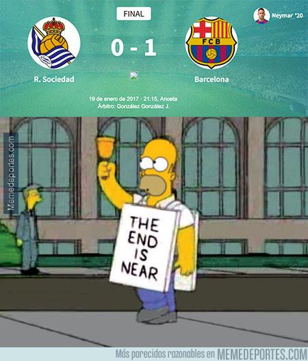 941295 - El Barça ganando en Anoeta