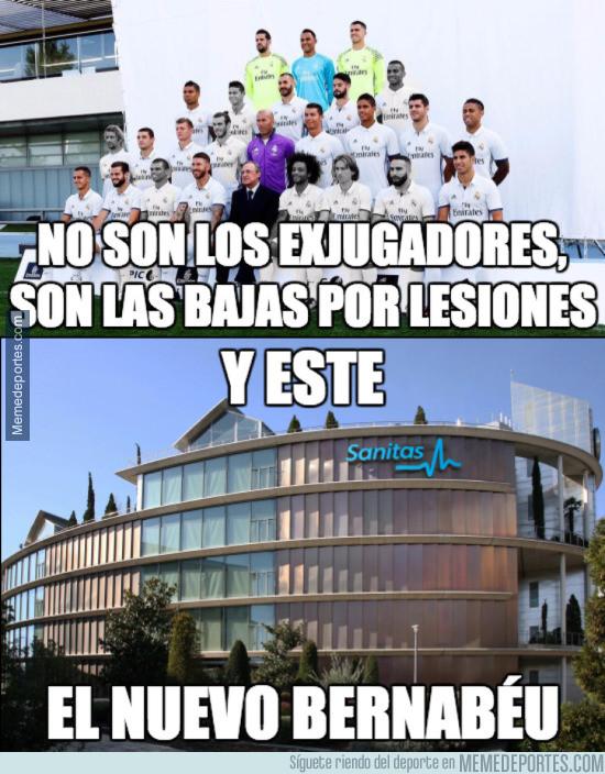941858 - Increíble lo del Madrid con las lesiones