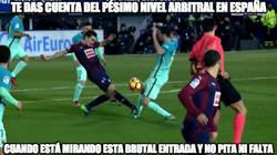Enlace a Lamentable los árbitros en España...