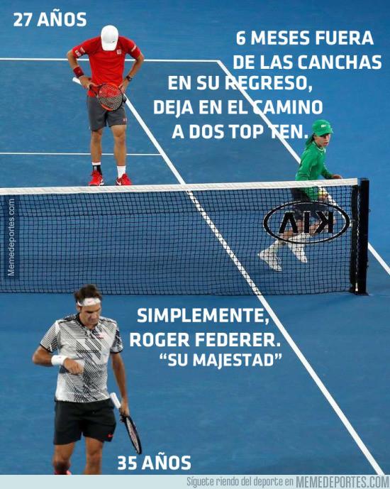 942108 - Roger Federer avanza a los Cuartos de Final