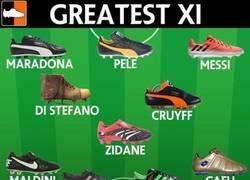 Enlace a Las botas que usaban los mejores jugadores
