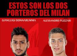 Enlace a Demasiado joven la portería del Milan