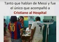 Enlace a Total #RESPECT para Messi