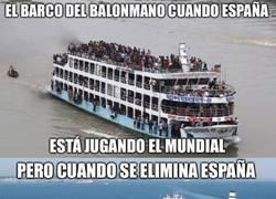 Enlace a Y con la eliminación de España el barco se empieza a vaciar...