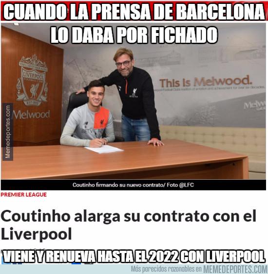 942400 - Coutinho se queda en Liverpool